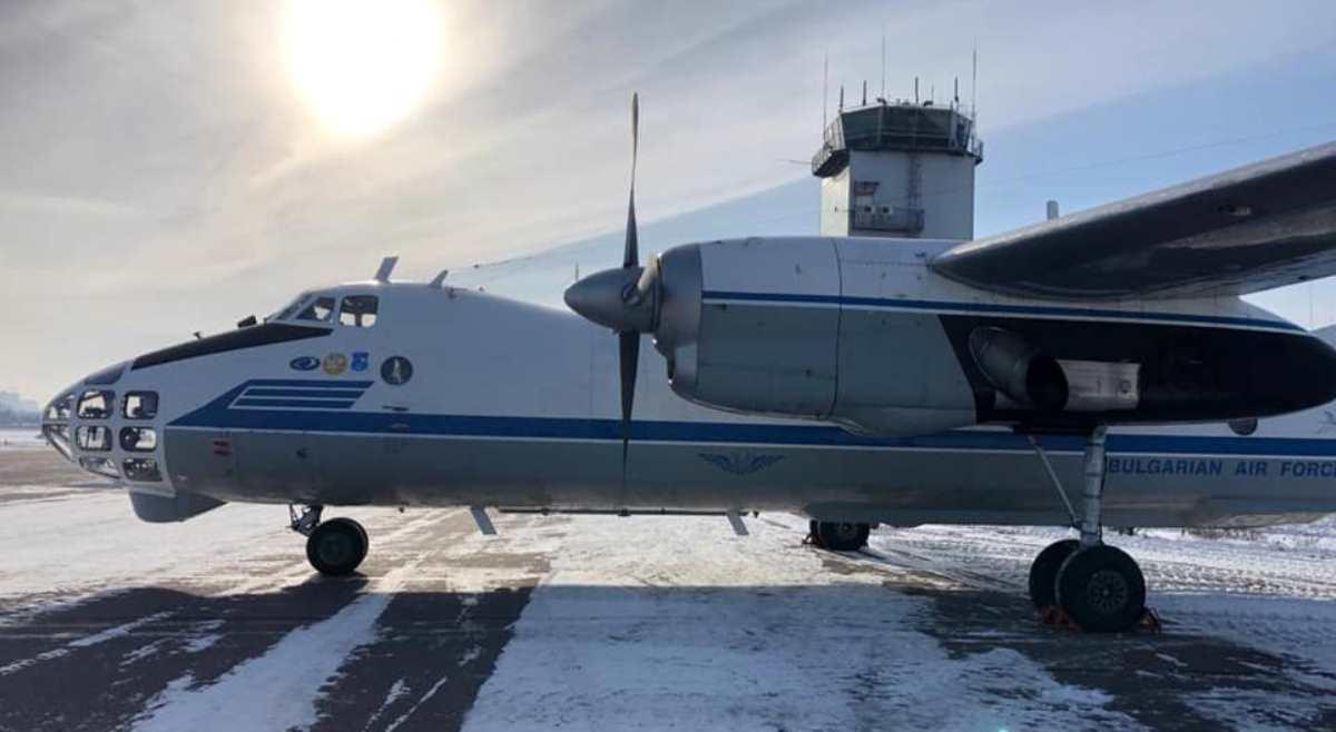 "Ан-30 ВПС Болгарії. Січень 2021. Фото: ""ЗАВОД 410 ЦА"""