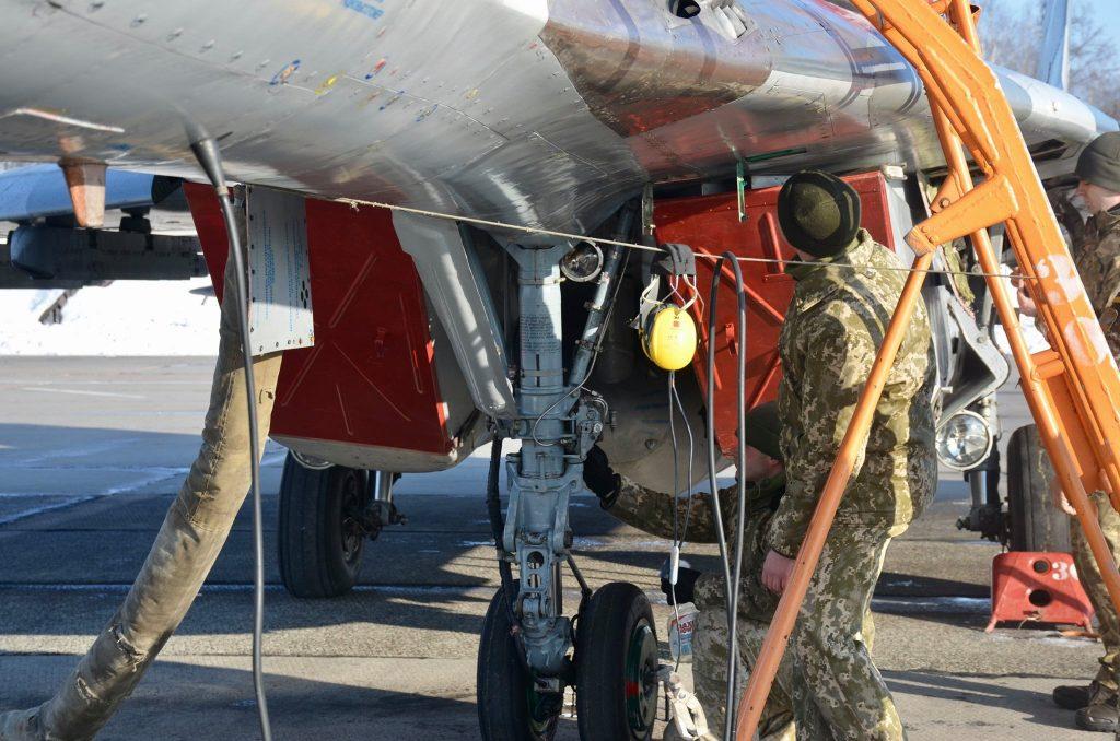 Винищувач МіГ-29. Січень 2021. ПС ЗСУ