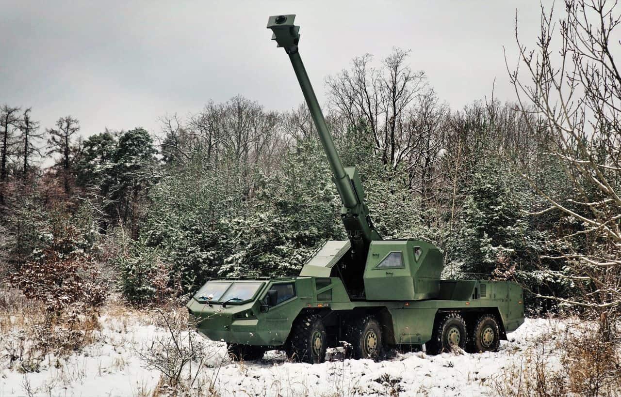 155-мм САУ DITA від Excalibur Army