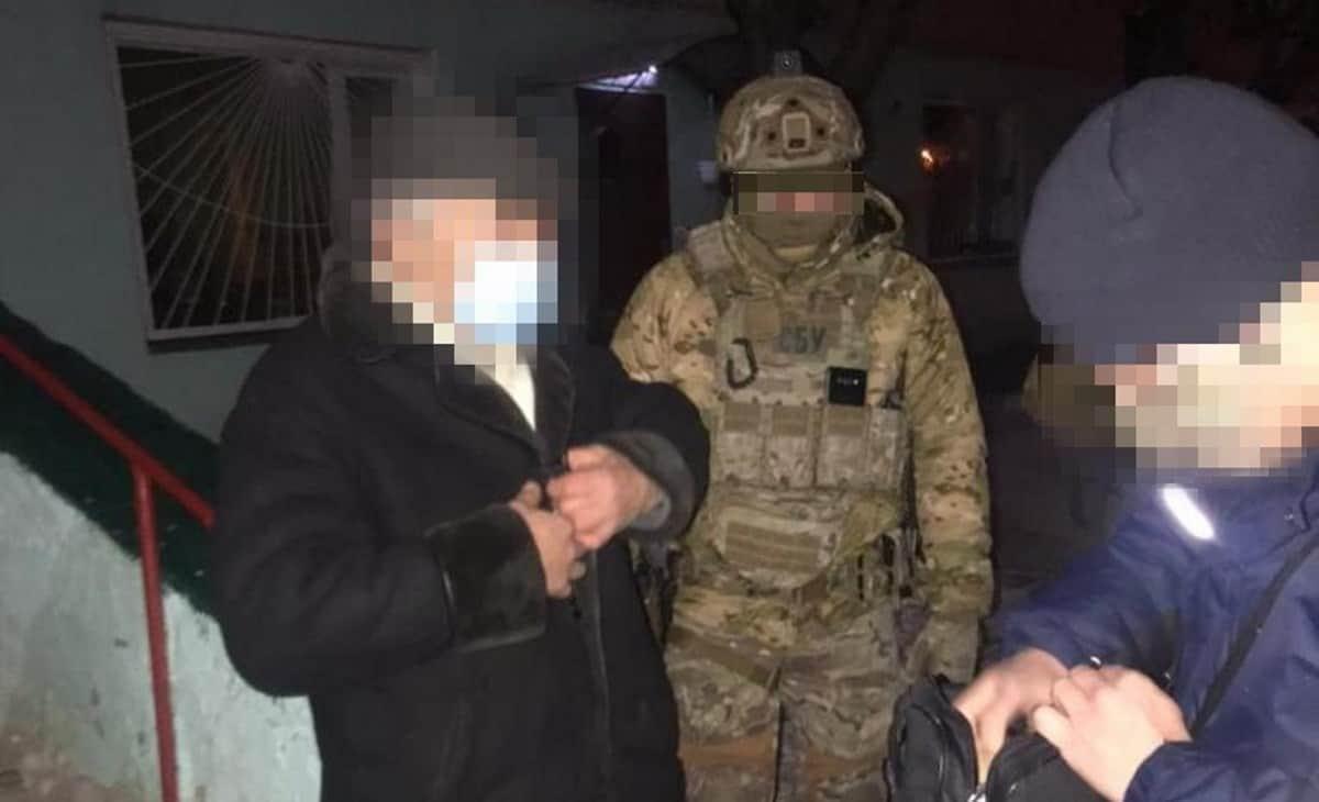 Затриманий агент ФСБ та керівник осередку забороненої комуністичної партії. Січень 2021.