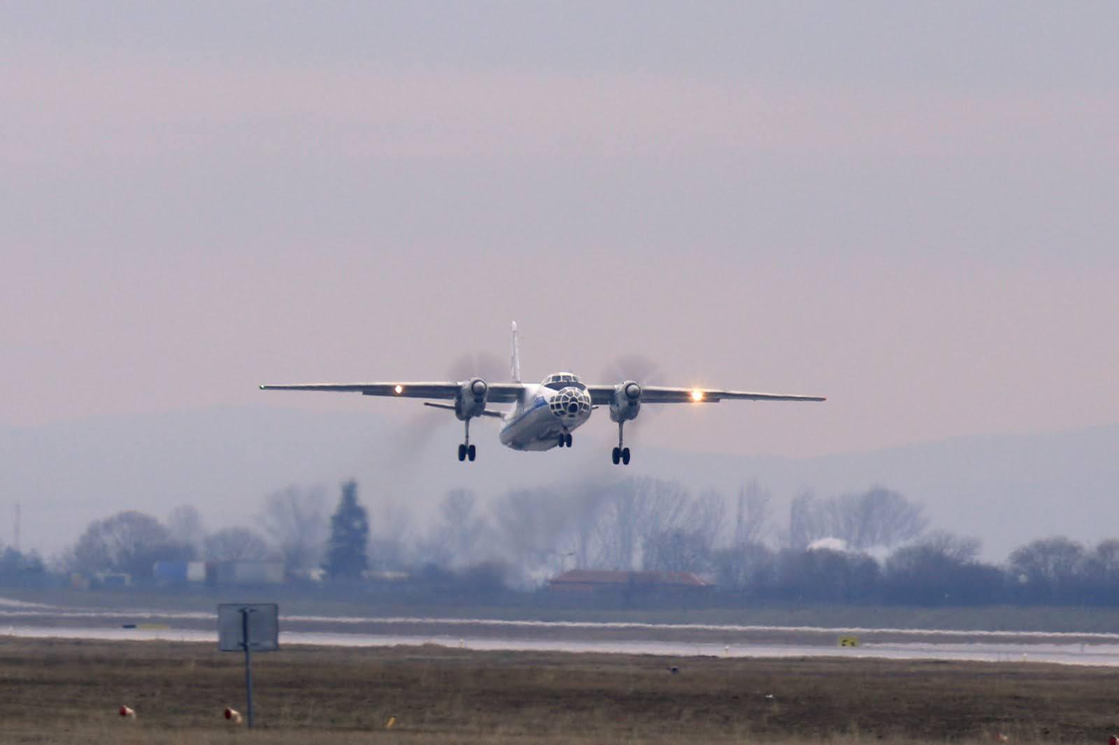 Ан-30 ВПС Болгарії 19 січня 2020 року