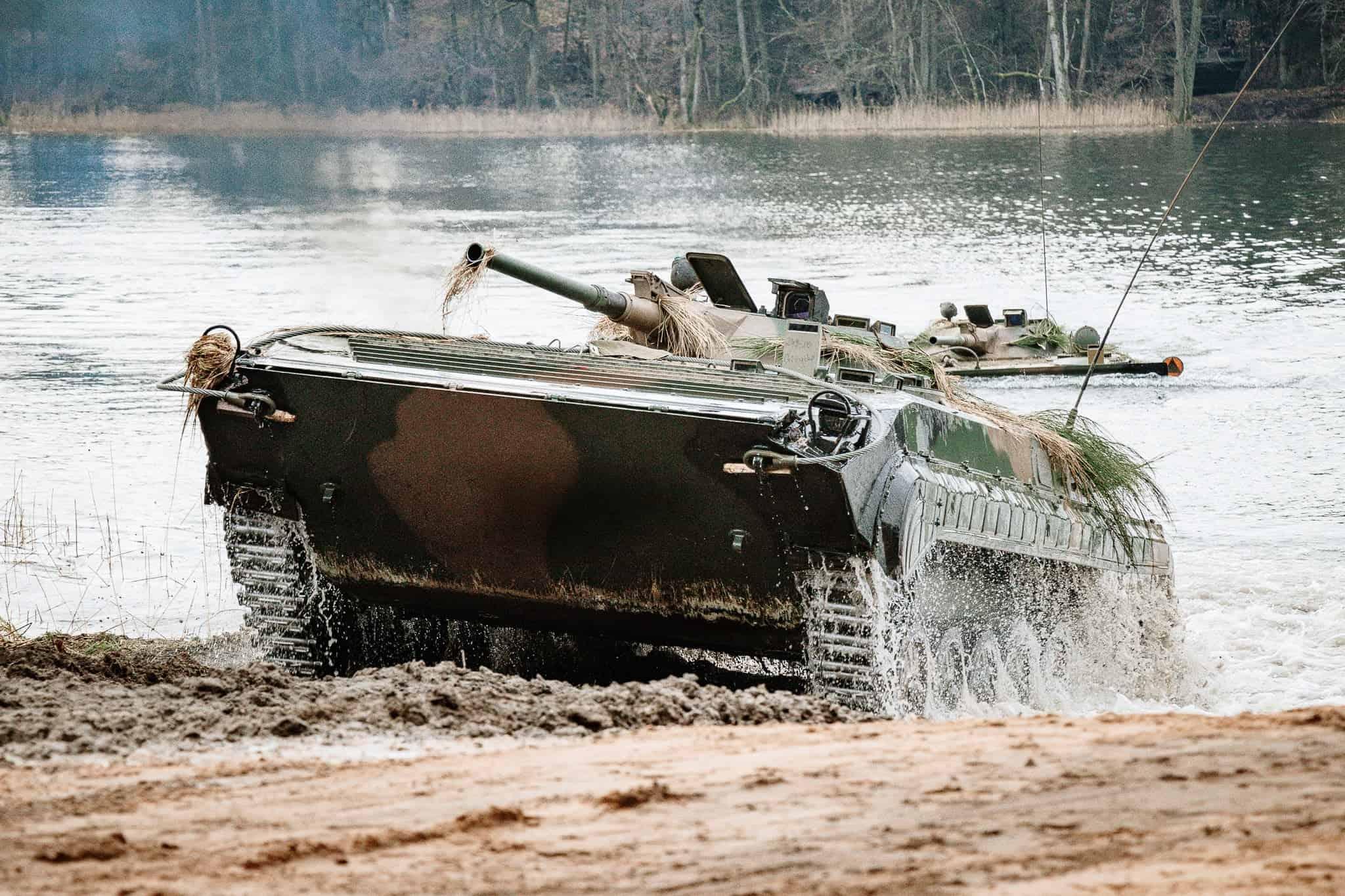 Бойова машина піхоти БМП-1 ЗС Польщі