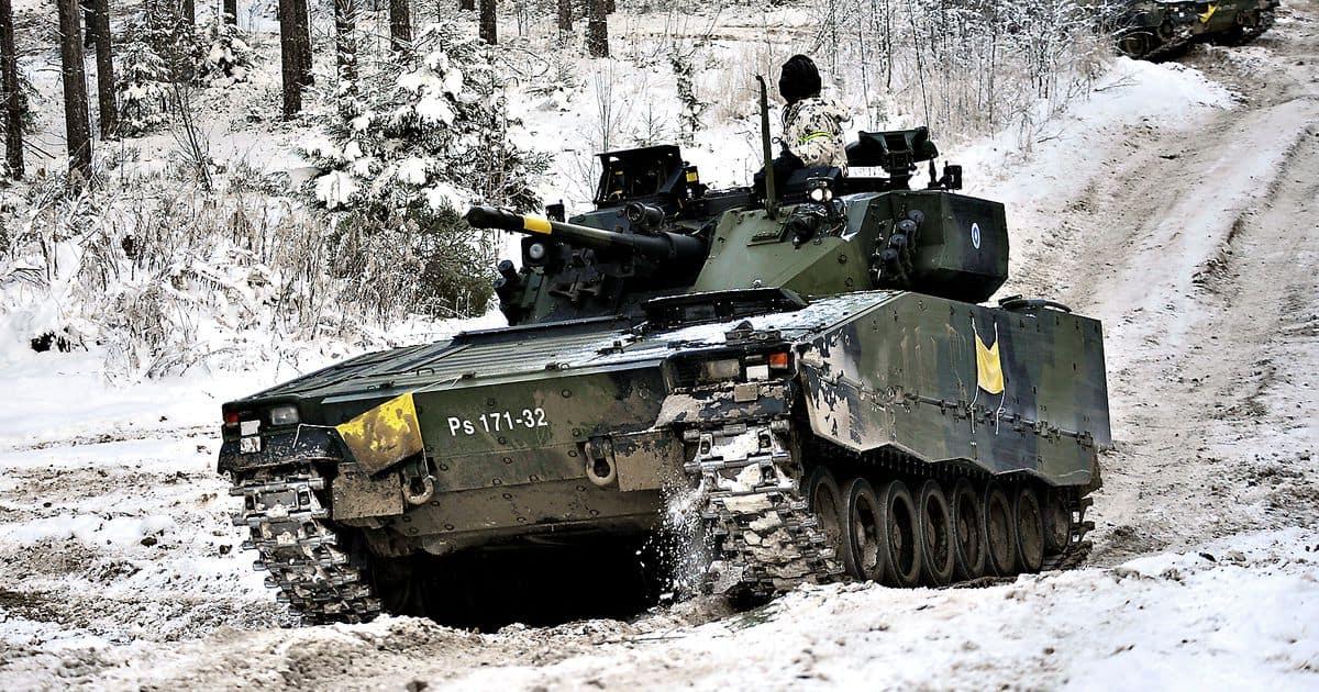 Бойова машина піхоти CV9030FIN