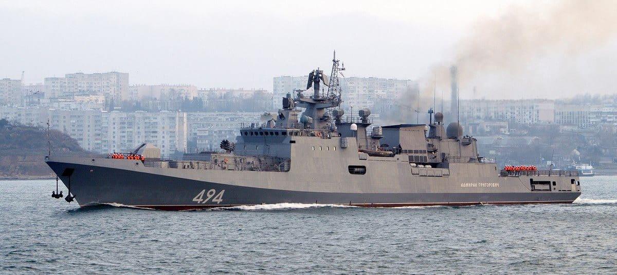 «Адмирал Григорович» - головний фрегат проєкту 11356Р