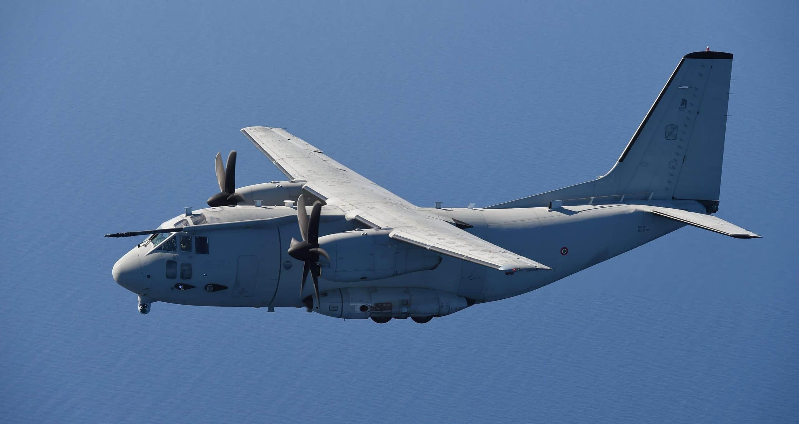Військово-транспортний літак C-27J Spartan. Фото з відкритих джерел