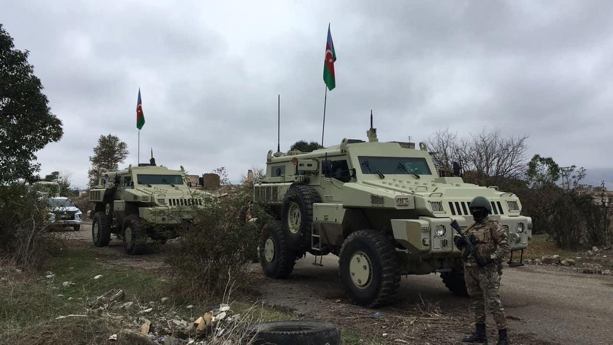 Бронеавтомобілі Marauder Збройних сил Азербайджану, Нагірний Карабах, 2020