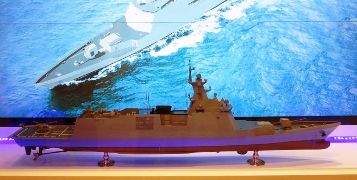 Модель фрегату проєкту FFX-II