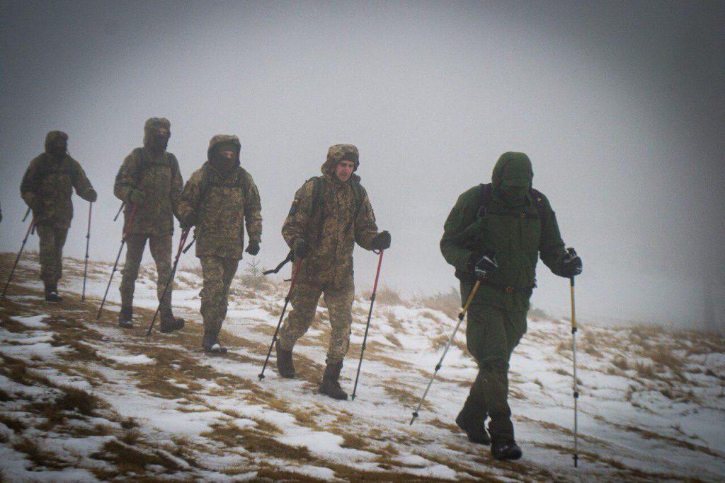 Гірська підготовка у 10-й гірсько-штурмовій бригаді