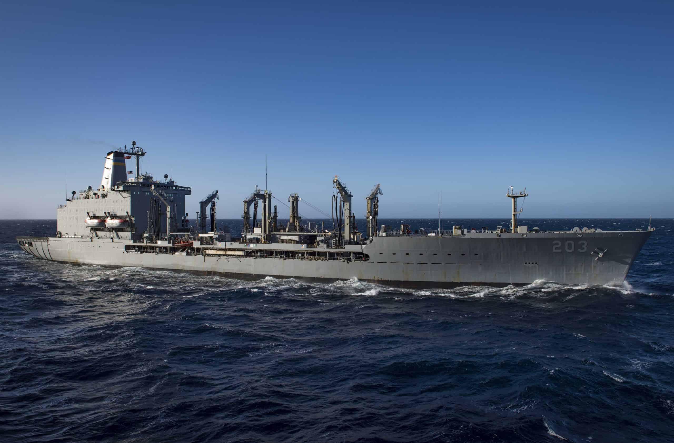 Корабель комплексного забезпечення USNS Laramie (T-AO 203) ВМФ США