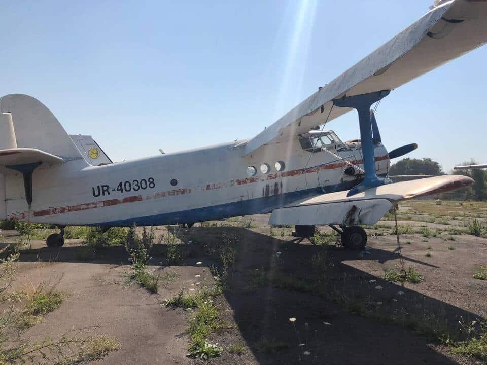 Літак Ан-2 з бортовим номером UR-40308