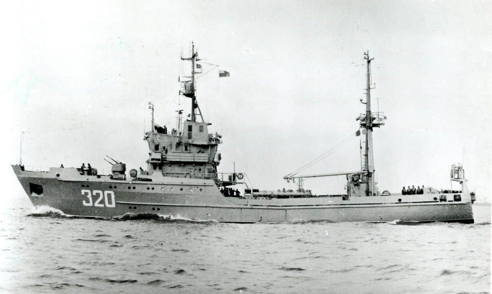 Малий протичовновий корабель на базі РСТ проєкту 503