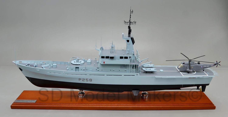 Модель HMS Leeds Castle