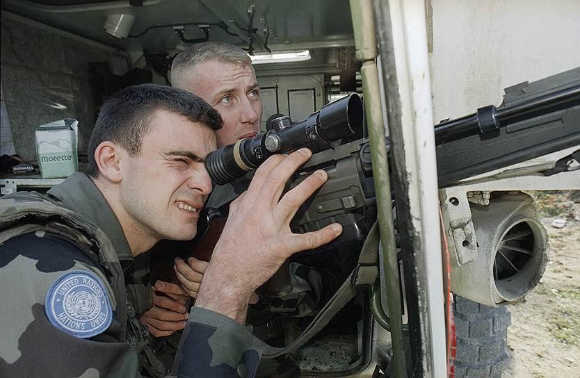 Миротворці ООН в Боснії та Герцоговині