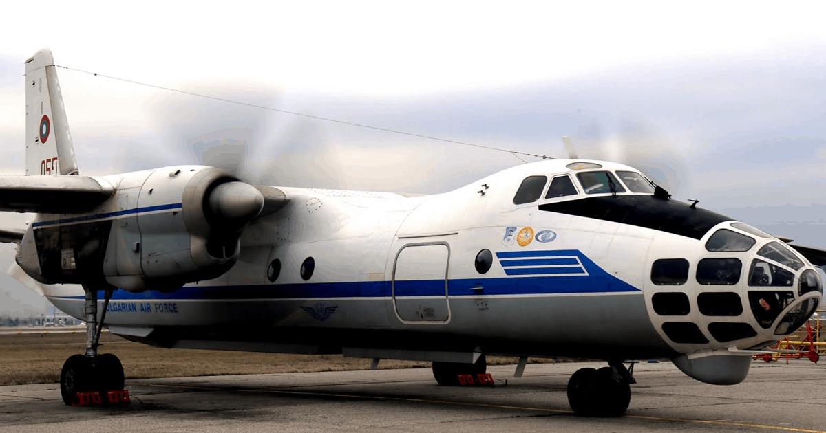 Ан-30 ВПС Болгарії. Січень 2021. Фото: 16 Транспортна Авиационна Група