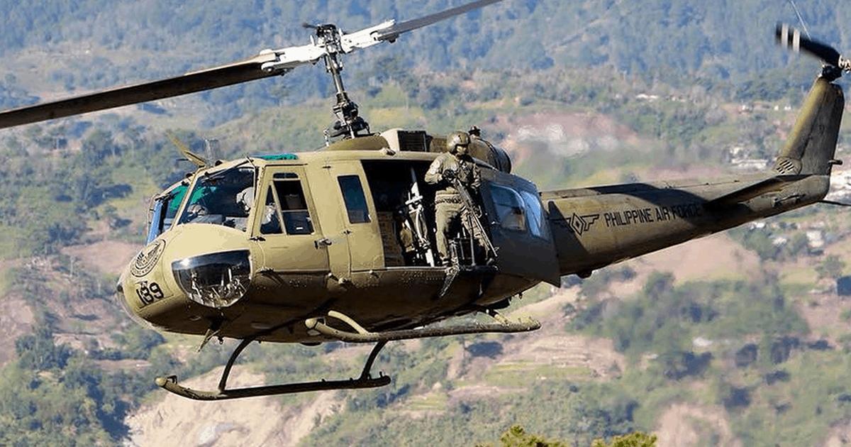 UH-1H Huey Повітряних сил Філіппін. Фото з відкритих джерел