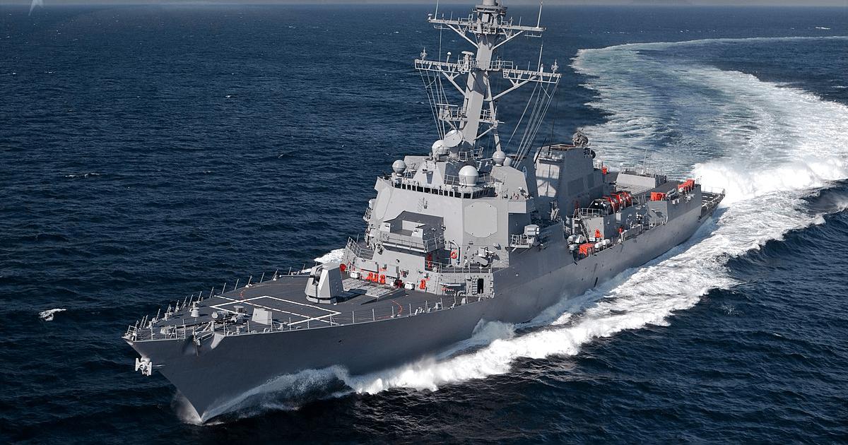 Есмінець класу «Arleigh Burke». Фото: ВМФ США