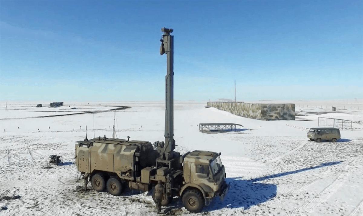 Російський комплекс артилерійської розвідки «Пенициллин». 2017 рік