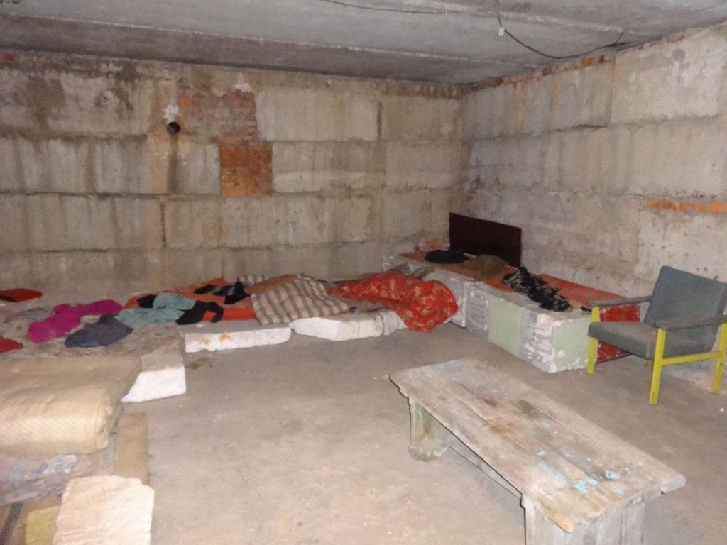 Підвальні приміщення де розміщувались ув'язнені «Изоляция»