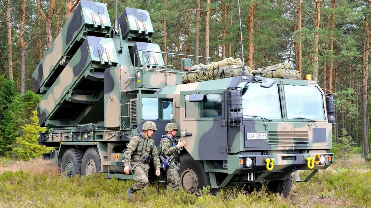 Польський ракетний комплекс з ракетами NSM