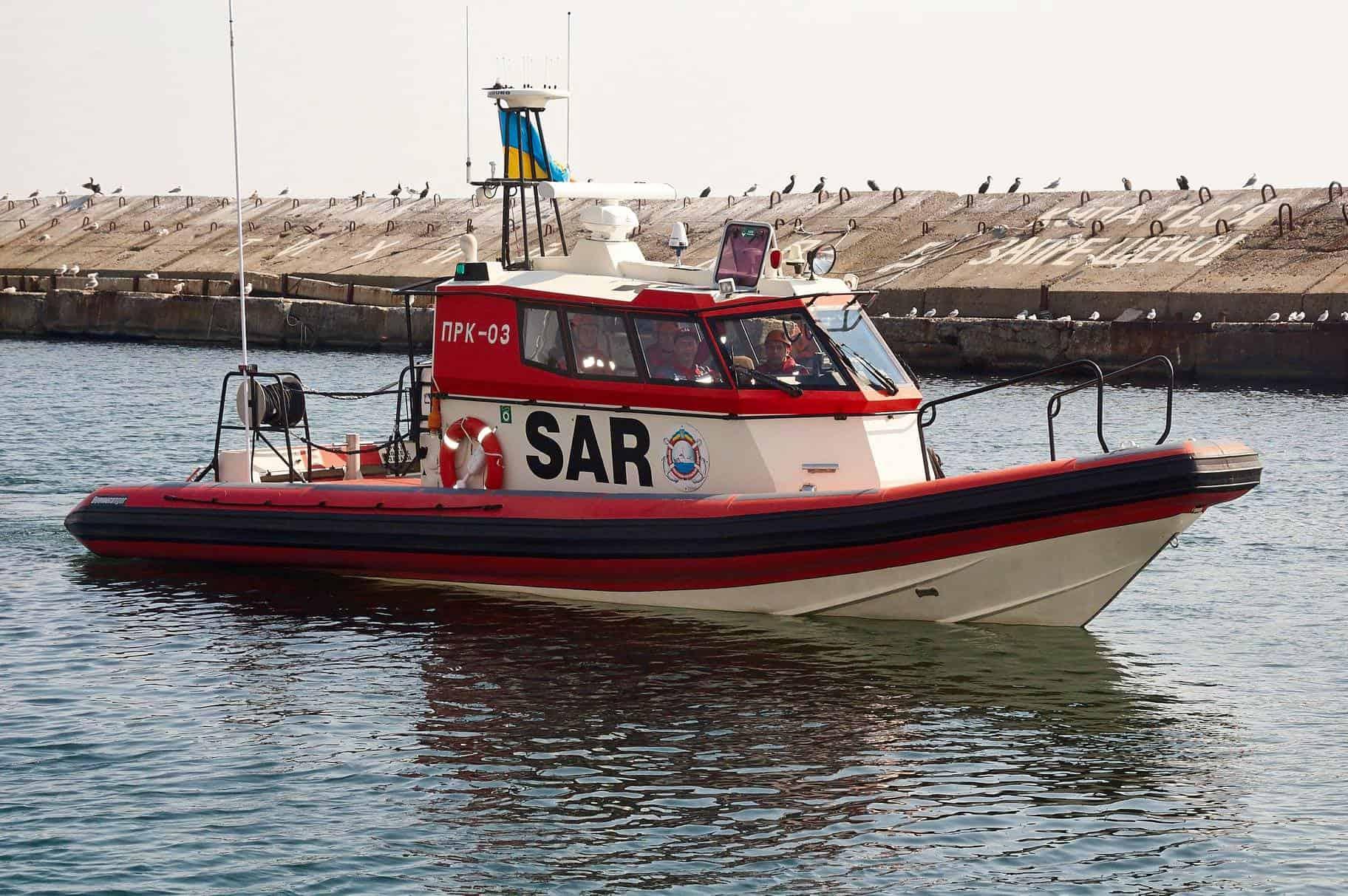 Пошуково-рятувальний катер ПРК-03 КП «Морська пошуково-рятувальна служба»