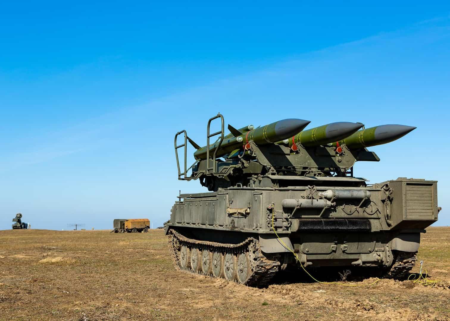Пускова установка ЗРК «Квадрат-2Д»