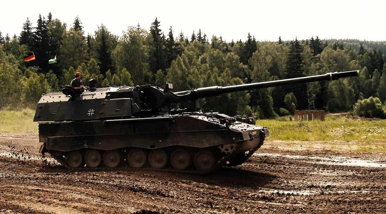 Самохідна артилерійська установка (САУ) Panzerhaubitze (PzH) 2000