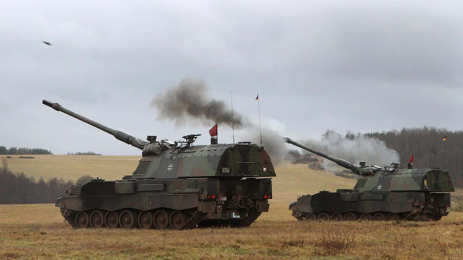 Самохідні артилерійські установки Panzerhaubitze (PzH) 2000