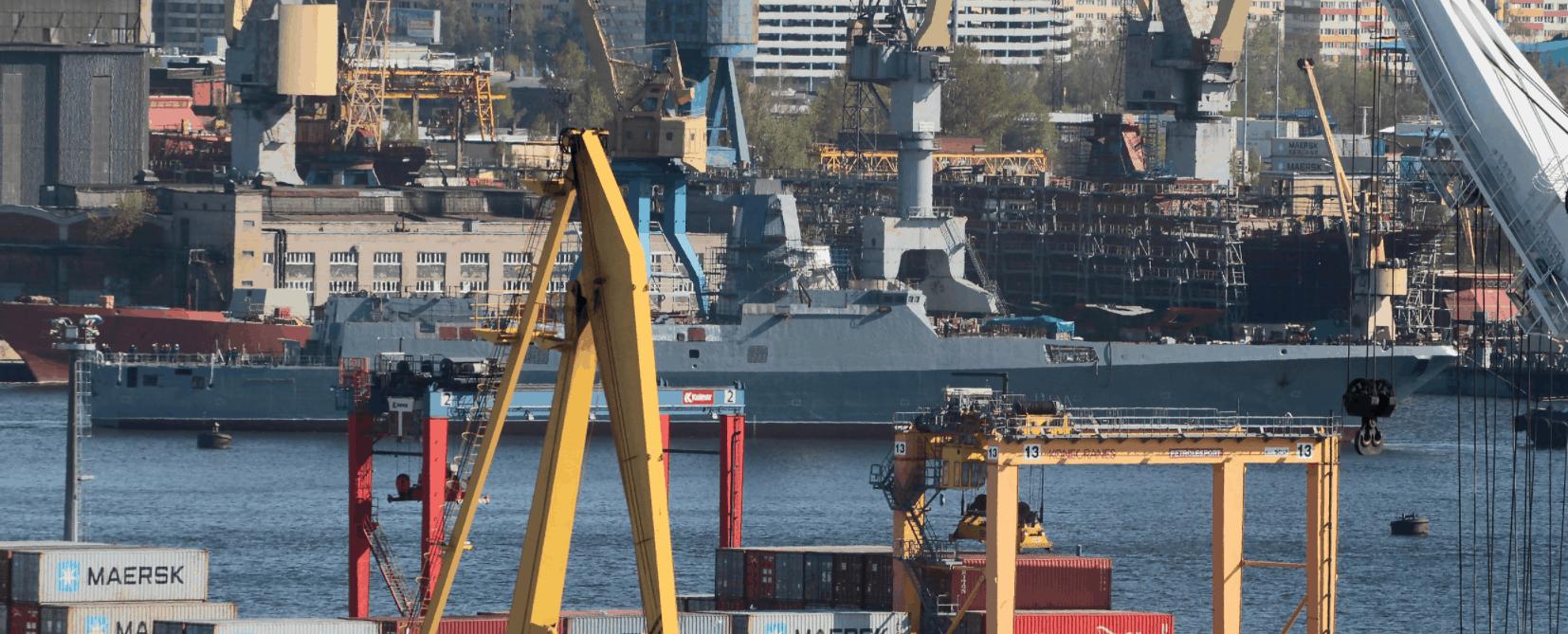 «Адмирал Головко» проєкту 22350 (номер 923). 2020 рік. Фото: ЗМІ РФ
