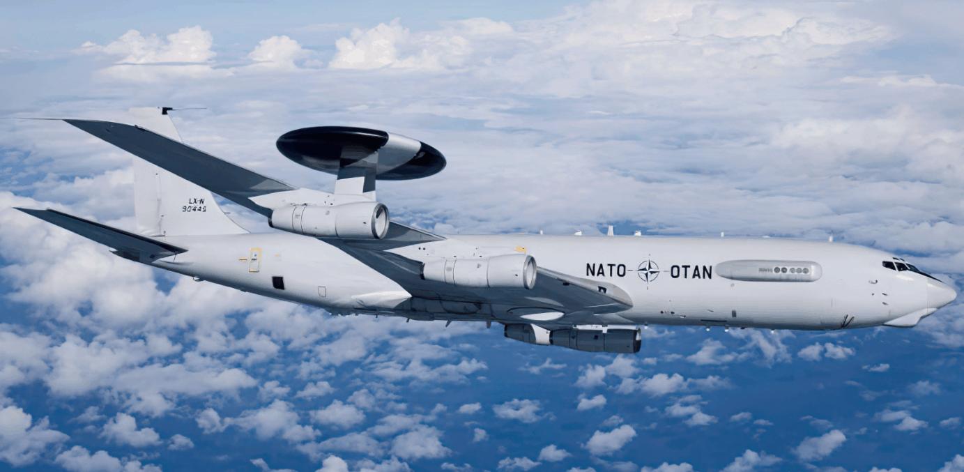 Літак дальнього радіолокаційного стеження E-3A. Фото з відкритих джерел