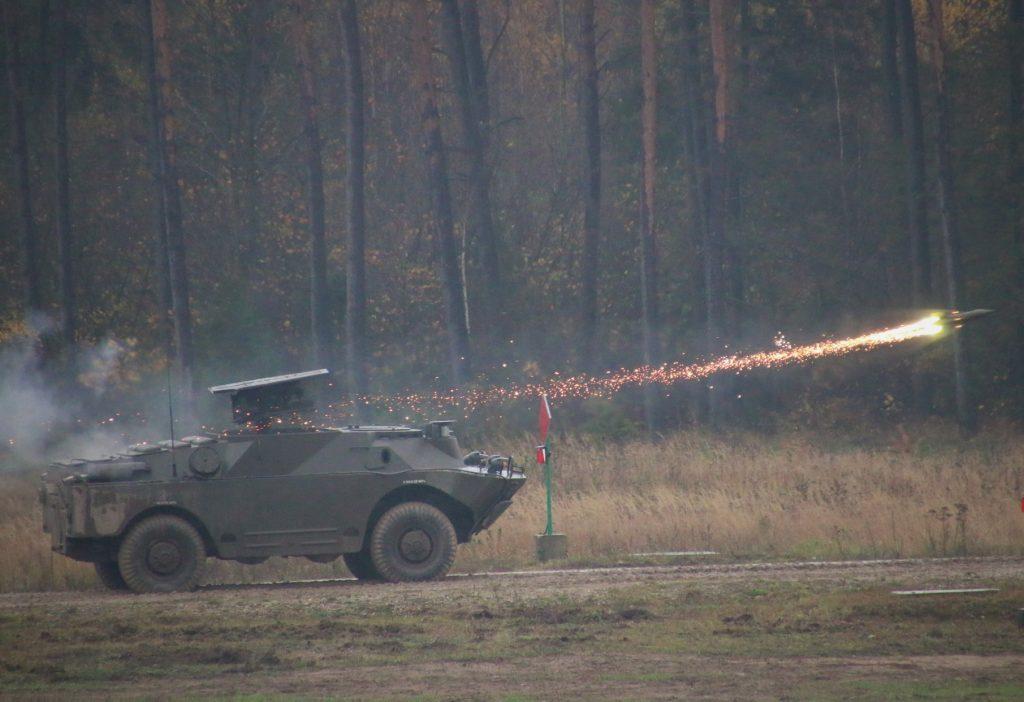 Стрільба з 9П133 у 14 протитанковому полку армії Польщі