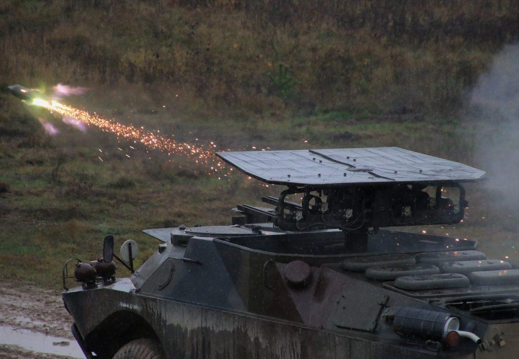 Стрільби з 9П133 у 14 протитанковому полку армії Польщі