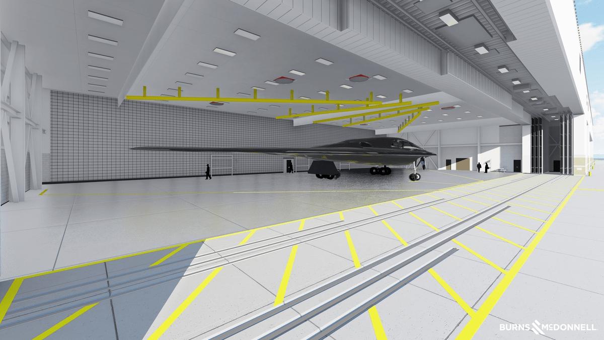 Ілюстрація можливого вигляду бомбардувальника B-21 Raider