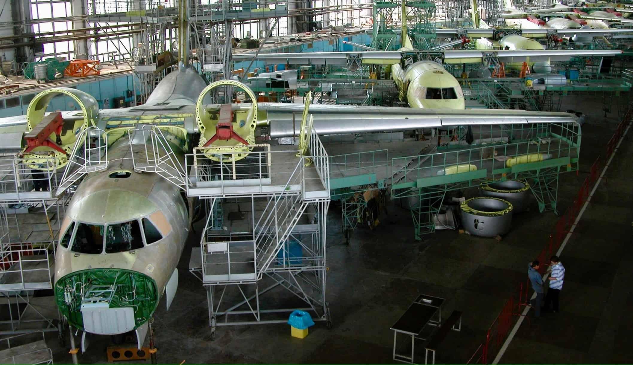 Цех ДП «Харківське державне авіаційно-виробниче підприємство» з виробництва Ан-74 та Ан-140