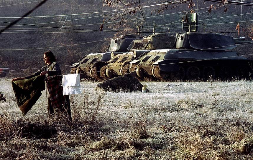 Танки Т-34 у бойових діях в Боснії та Герцоговині