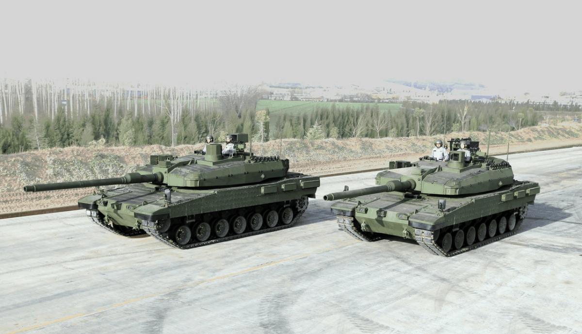 Турецькі танки Altay