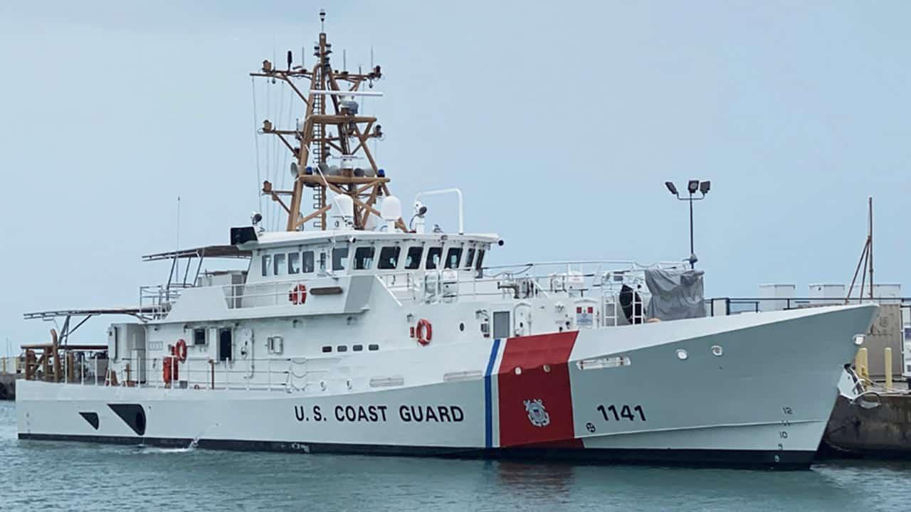 Швидкісний патрульний катер FRC (Fast Response Cutter) класу «Sentinel» – (WPC 1 141) «Charles Moulthrope». Фото з відкритих джерел