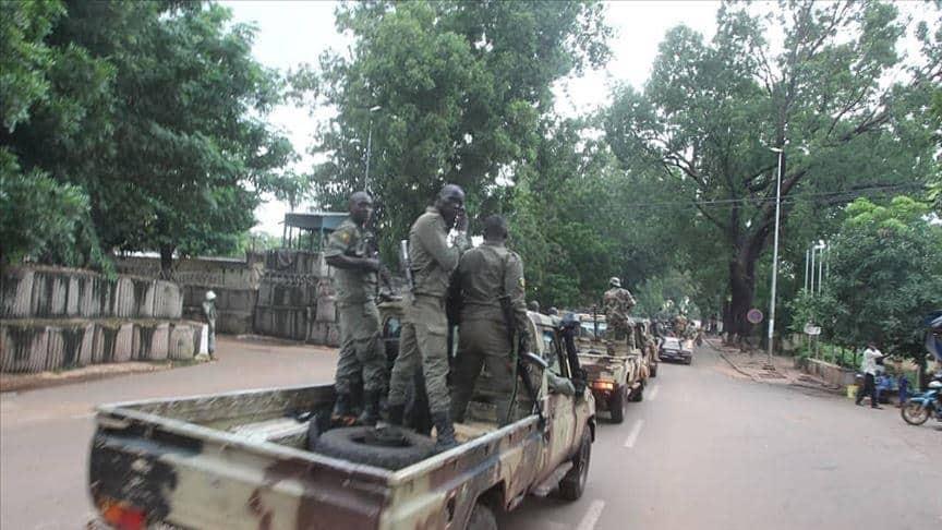 Військовослужбовці ЗС Малі