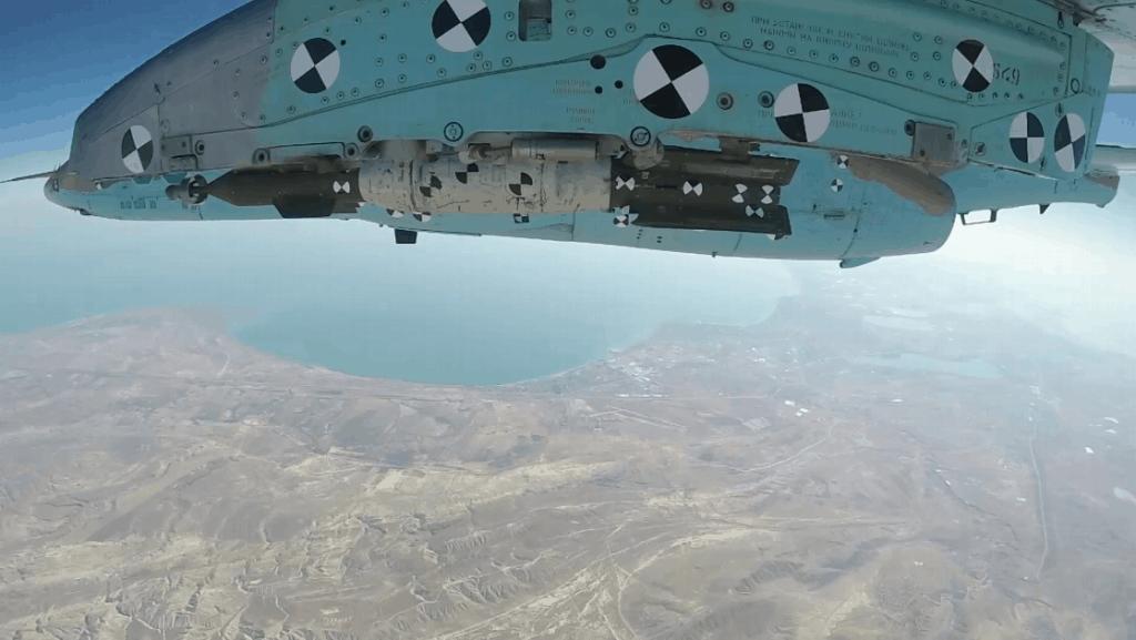 Випробування LGK-OFAB на штурмовику Су-25 азербайджанських повітряних сил
