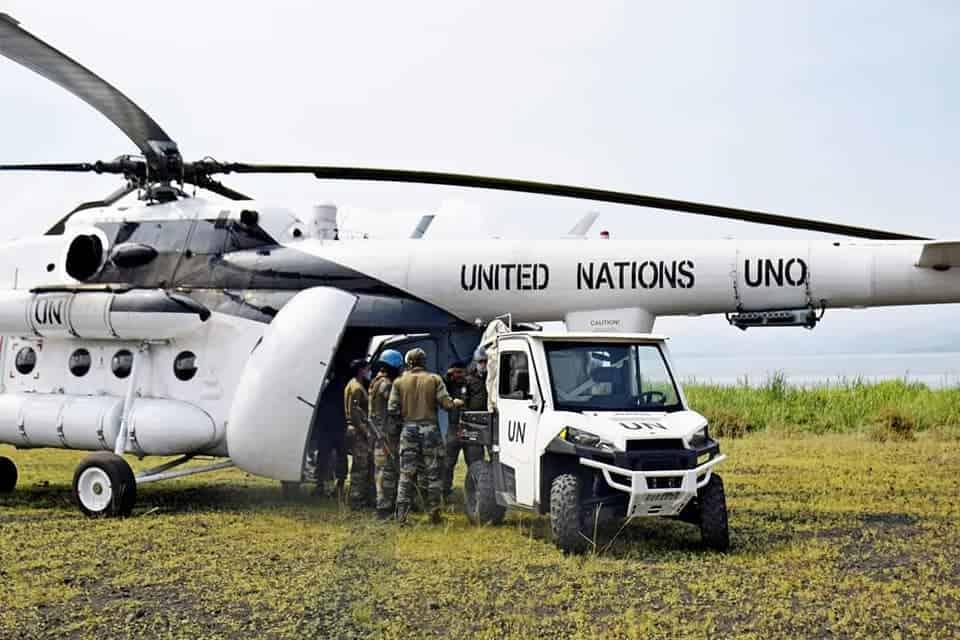 Висадка багі Polaris індійського миротворчого контингенту