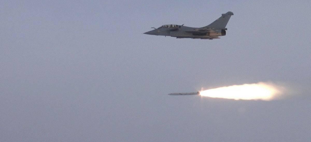 Перші випробувальні стрільби оновленої стратегічної ракети ASMP-A. Фото: Міноборони Франції