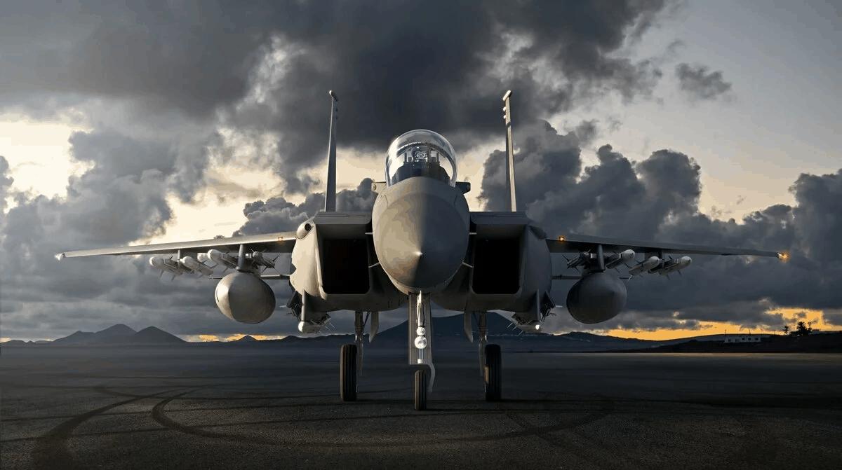 Багатоцільовий винищувач F-15 EX