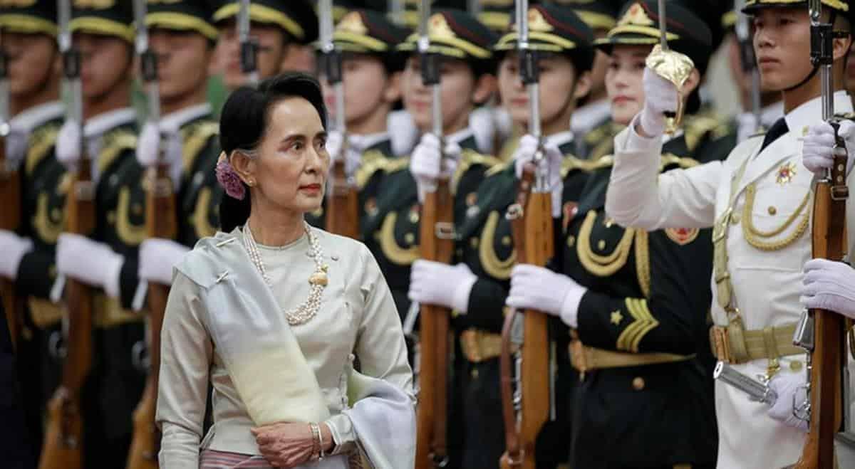 """Аун Сан Су Чжі - Генеральний секретар """"Національної ліги за демократію"""" у КНР. Фото з відкритих джерел"""