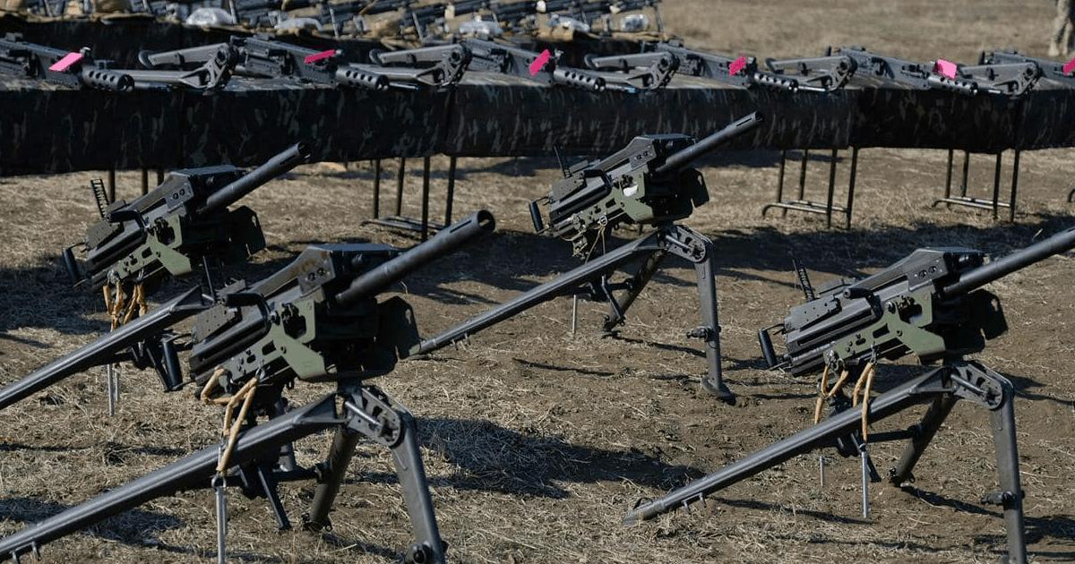 Отримане Збройними силами Грузії американське озброєння. Лютий 2021. Фото: МО Грузії