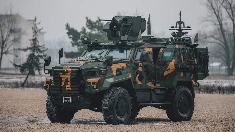 Бронемашина «Ejder Yalçın» («Gidran») Збройних сил Угорщини. Лютий 2021. Фото: МО Угорщини