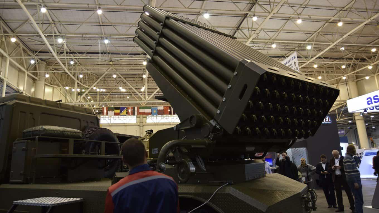 """РСЗВ """"Берест"""" має 50 направляючих українського виробництва (Міноборони активізує створення нової реактивної системи залпового вогню, яка має прийти на заміну БМ-21 «Град».)"""