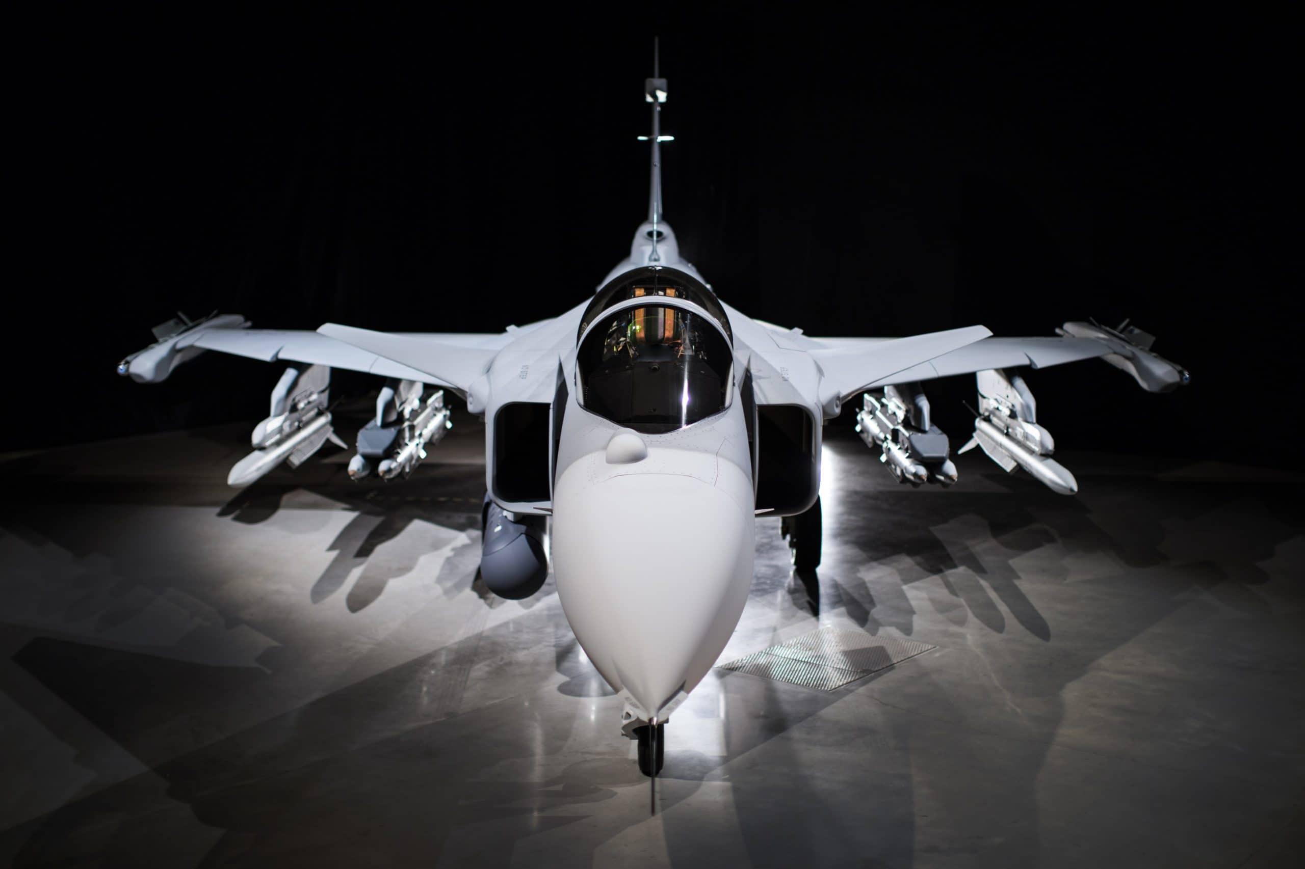 Багатоцільовий винищувач Saab JAS-39E Gripen