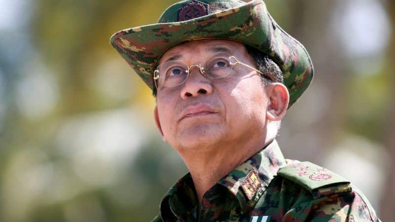 Головнокомандувач збройними силами М'янми Мін Аун Хлаінга