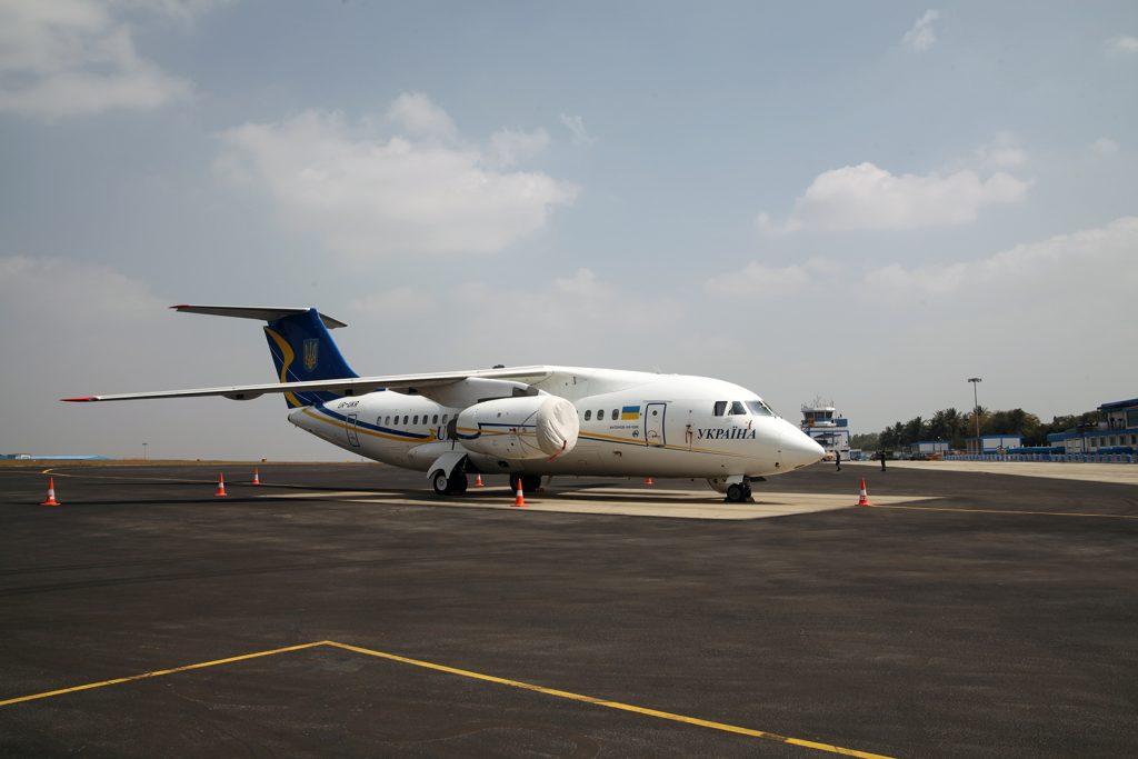 Представники України на міжнародній авіаційній виставці Aero India-2021 в Індії. Лютий 2021. Фото: «Укроборонпром»