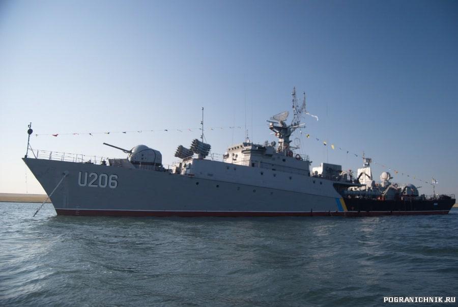 Корвет «Вінниця» на День ВМС ЗС України 3 липня 2011 року 1