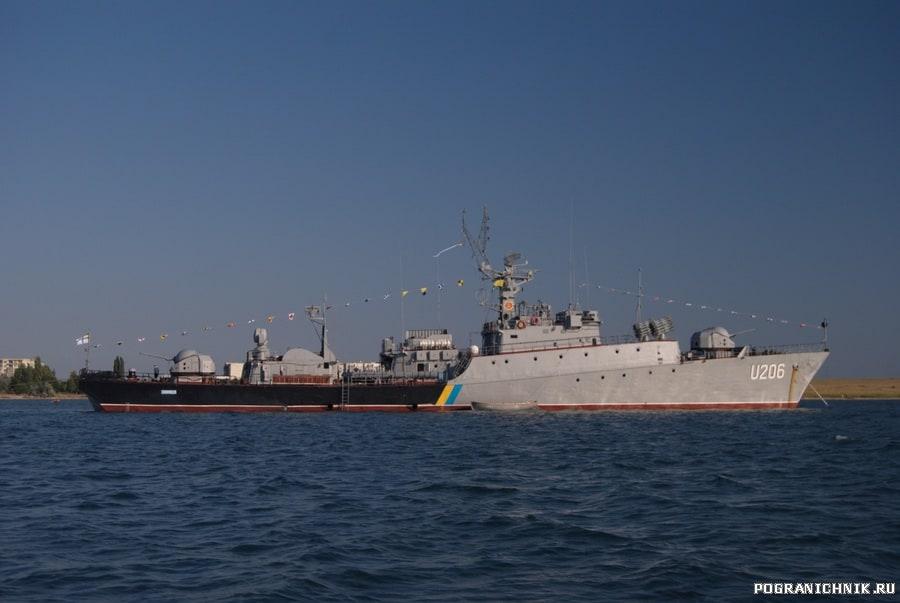Корвет «Вінниця» на День ВМС ЗС України 3 липня 2011 року